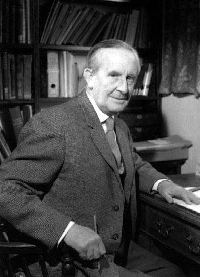 Foto Tolkien Professore